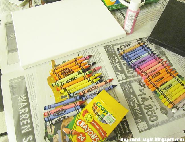 DIY crayonart3