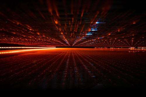 orange abstract art lines dark surreal conceptual lighs simonandhiscamera
