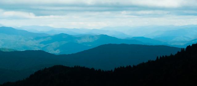 Ridges panoramic