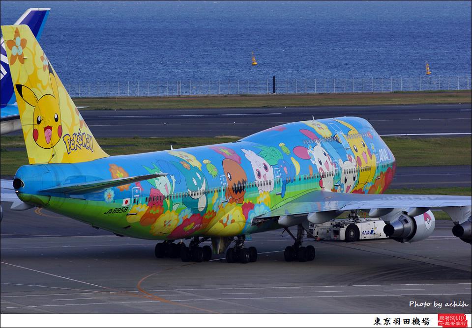 All Nippon Airways - ANA / JA8956 / Tokyo - Haneda International