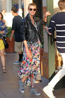 Agyness Deyn Converse Celebrity Style Women's Fashion