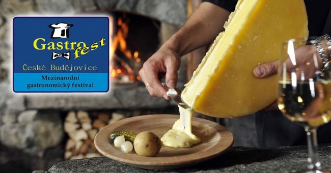 Švýcarsko na výstavě Gastrofest v Českých Budějovicích