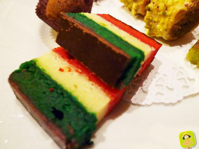 torrisi italian specialty - tricolor cake
