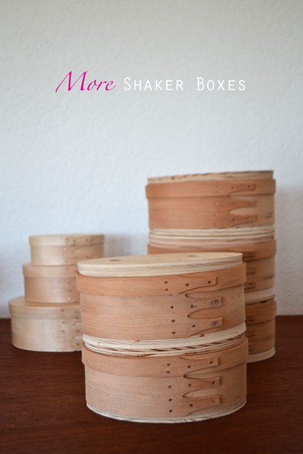 More Shaker Box Making