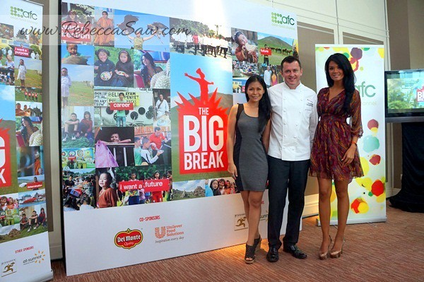 AFC The Big Break - Farah Quinn and Chef Alan of Resort World Sentosa
