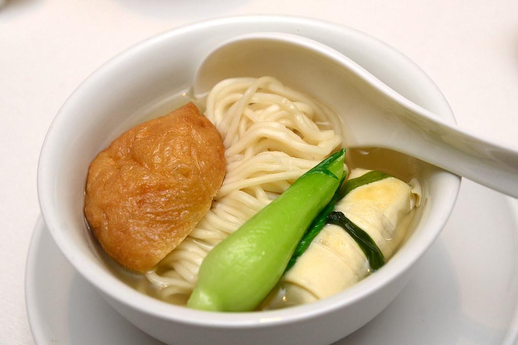 台北君悅正宗寧波料理 - 倉橋麵結麵
