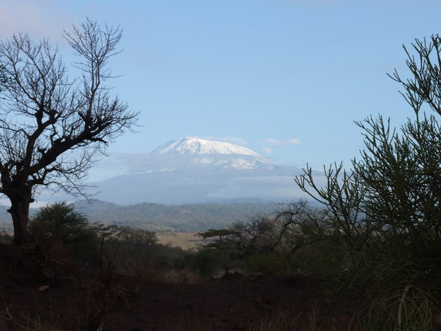 Cycling around Kilimanjaro
