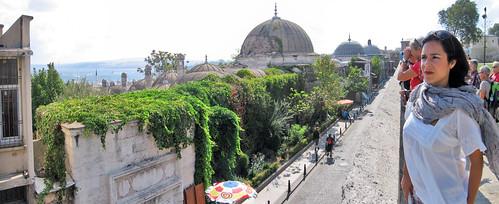 Desde la mezquita de Suleiman