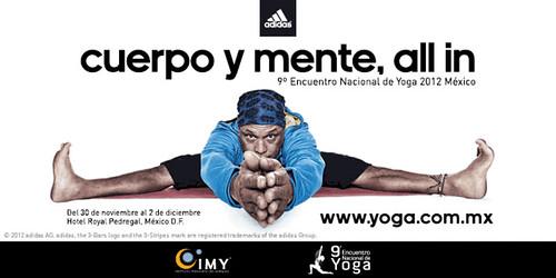 Encuentro Nacional de Yoga Adidas
