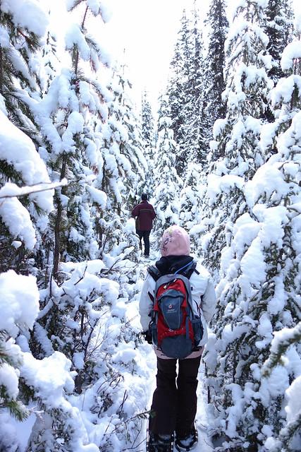 Snowshoeing Rummel Lake-8