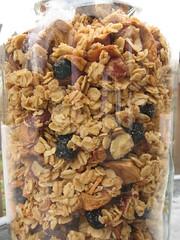 Hazelnut Granola with Dried Fruit