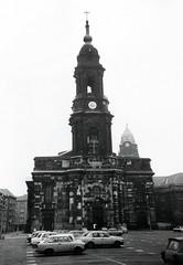 Dresden, Keuzkirche, Altmarkt 1989