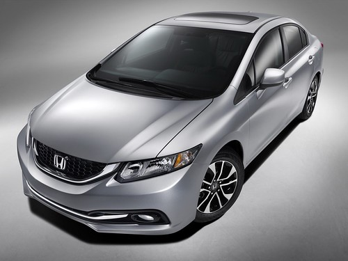 2013 Honda Civic Sedan Facelift . 2014 HONDA CIVIC SEDAN UPDATED BODY STYLE