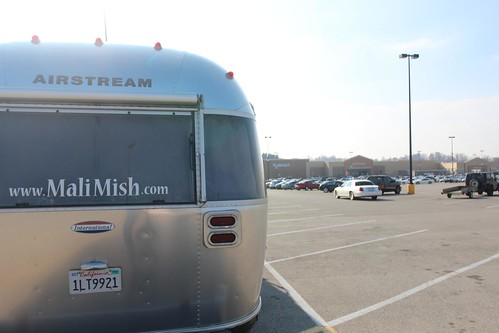 Day 98: Back to Nashville with broken Airstream steps.