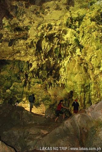 Inside Sarang Cave
