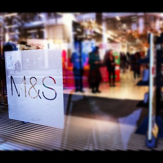 #globalsharingday store front at @marksandspencer Oxford St