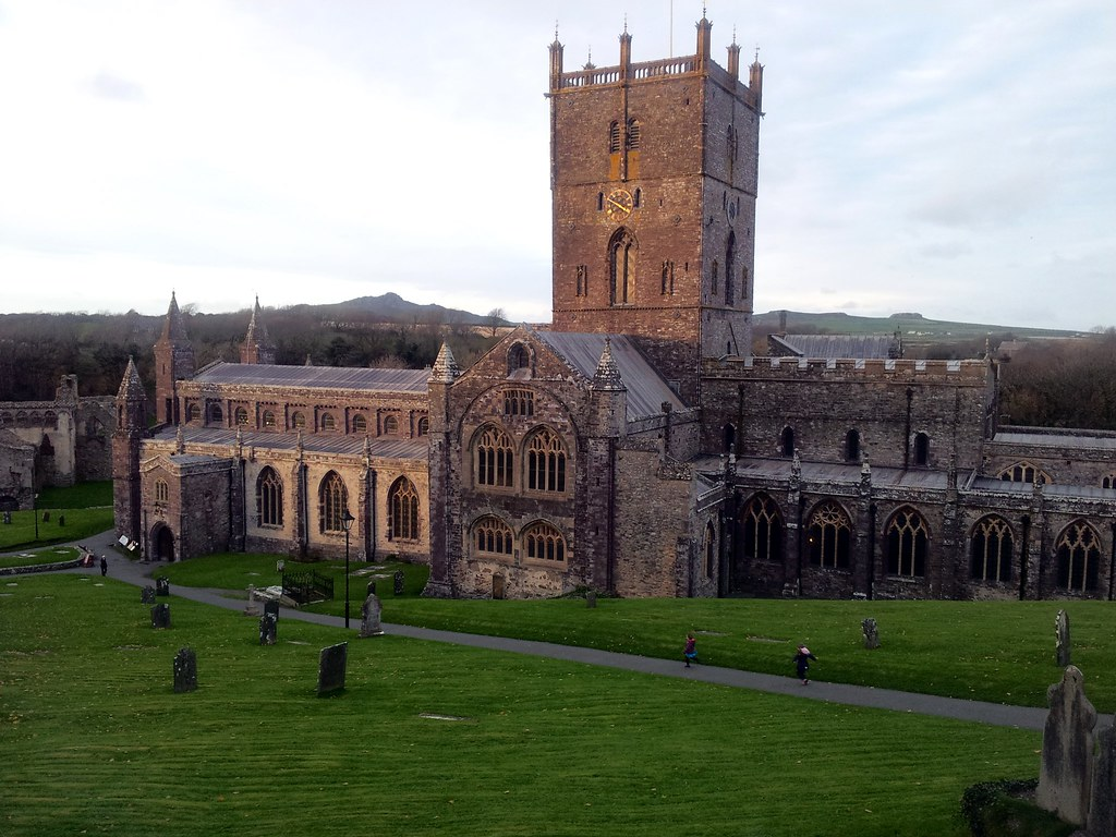 , Mum's Birthday in the City:  St David's, The Smallest City
