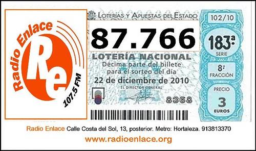 LOTERÍA 2012 RADIO ENLACE
