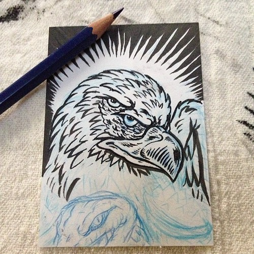 New Sketch Card by Bebop'n