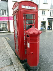 post box, telephone booth, payphone,