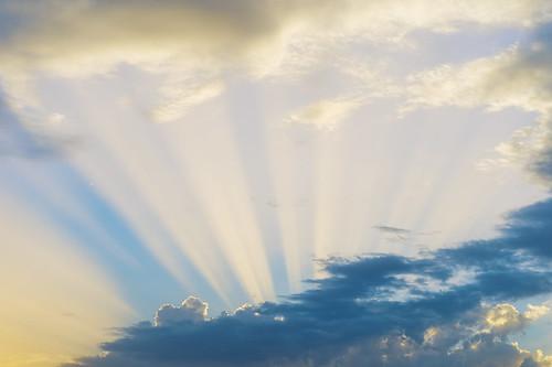 [フリー画像素材] 自然風景, 空, 雲, 薄明光線 ID:201211182000