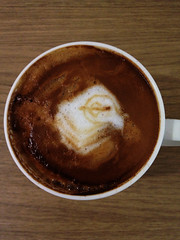 Today's latte, HyperCard.