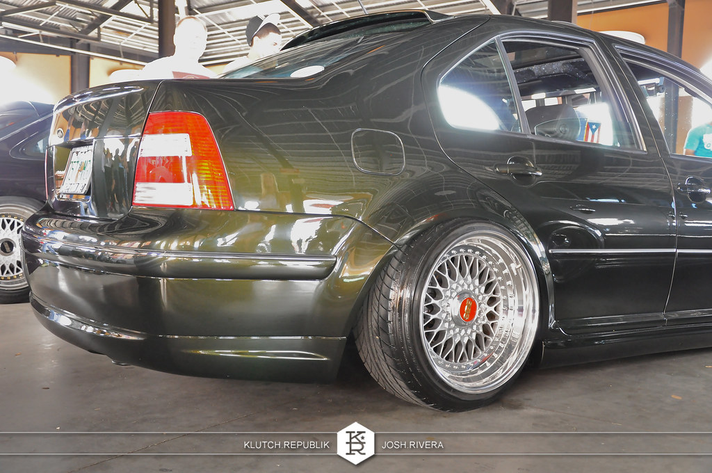 green vw mk4 jetta 1.8t vr6 ocean tails bbs rs shot at simple clean 4 in florida 3pc wheels static airride low slammed coilovers stance stanced hellaflush poke tuck negative postive camber fitment fitted tire stretch laid out hard parked seen on klutch republik