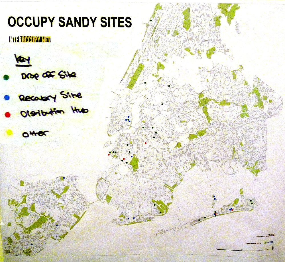 Occupy Sandy Sites