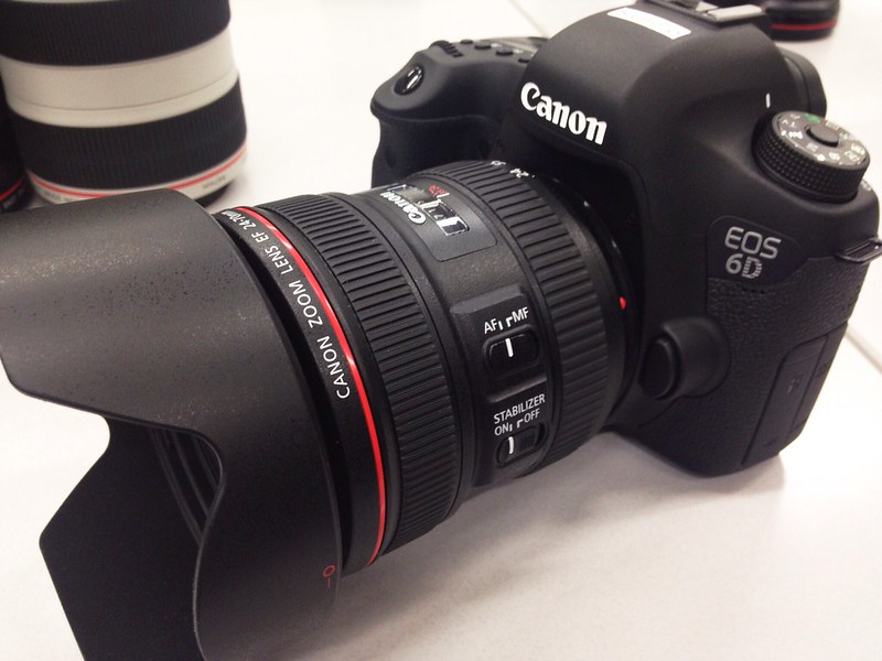 EOS 6D + EF 24-70 F4L IS USM Hands On