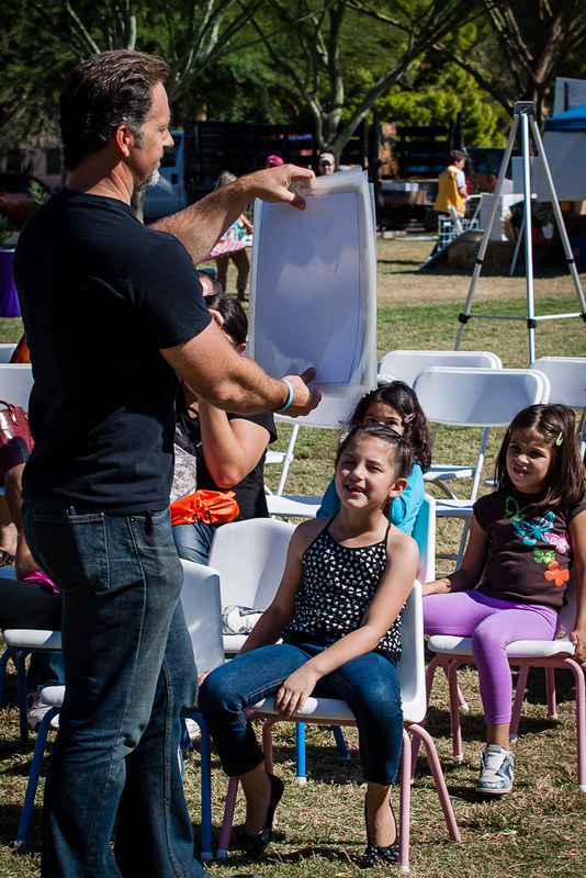 Scenes from the Family Literacy Festival