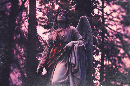 [Free Images] Arts, Sculptures, Christianity, Angel ID:201211201800