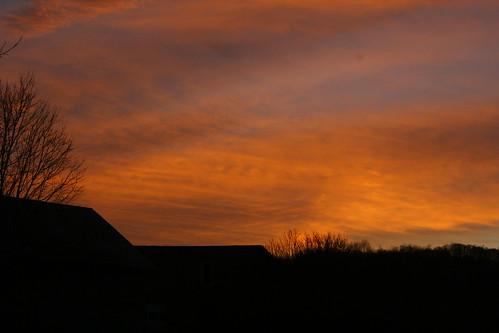 camera trees light sunset sky orange mountains nature silhouette clouds barn digital canon dark landscape photography rebel xt flickr vermont hills dslr vt pawlet