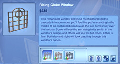 Rising Globe Window
