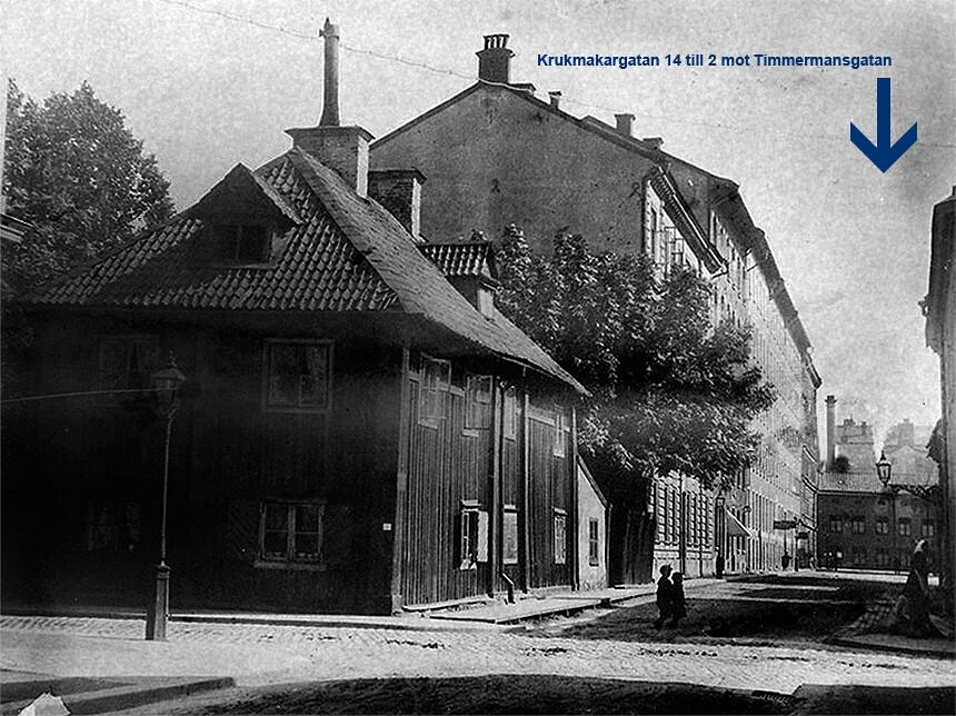 Krukmakargatan 14 till 2 mot Timmermansgatan