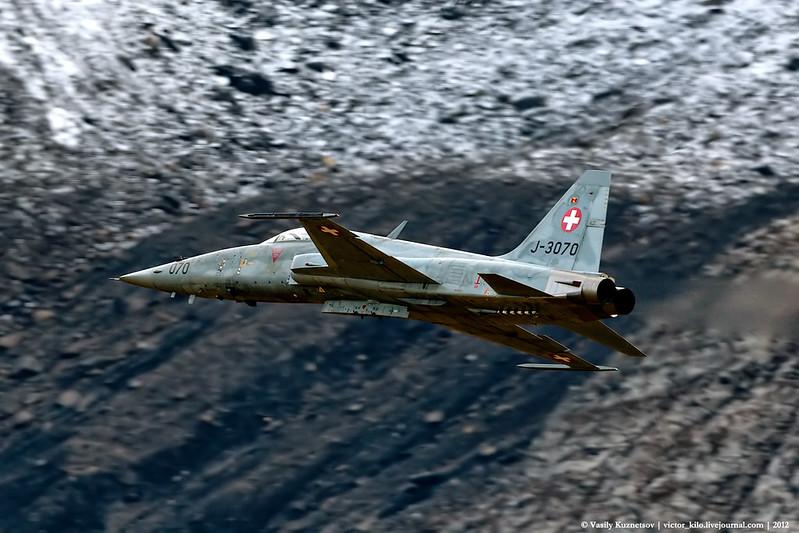 Swiss AF F-5E J-3067 at Axalp