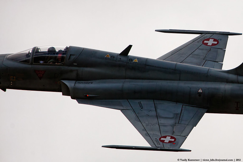 Close up on Swiss AF Northrop F-5E