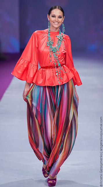 Ukrainian Fashion Week SS13. Kaleidoscope collection. Julia Aysina