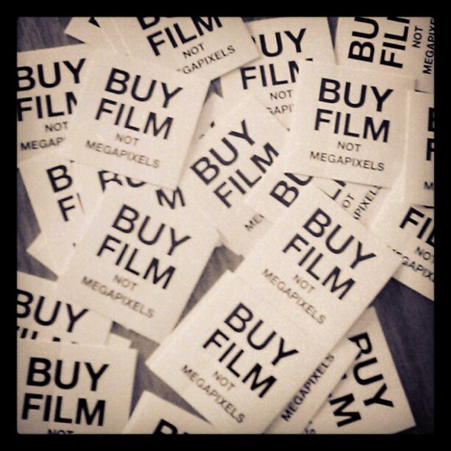 BUY FILM NOT MEGAPIXELS