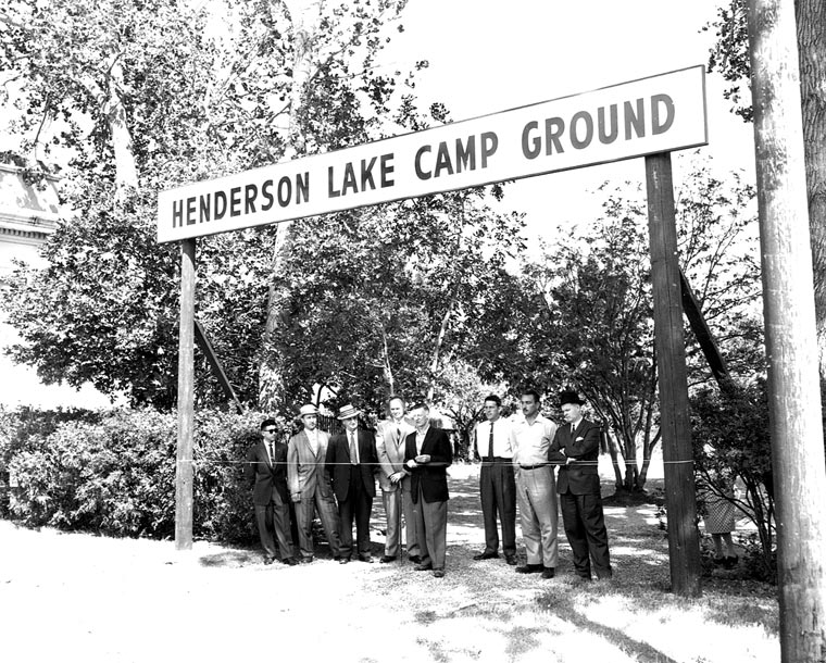 Henderson Lake Campground Opening
