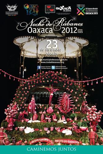 Noche de Rabanos (Radish Night) @ Oaxaca 12.2012