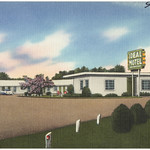 Ideal Motel, located on Highway 80, 5 miles west of Jackson, Mississippi