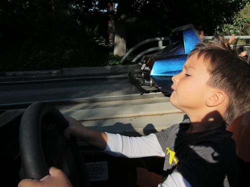 Finn drives