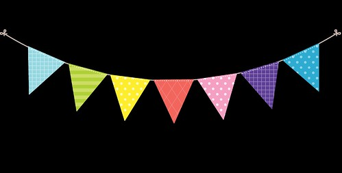 Bunting---Dots-and-Stripes---Rainbow---8