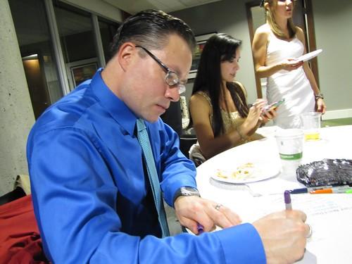 Joshy signing