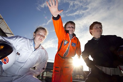 Science Week kids get ready to take off 2
