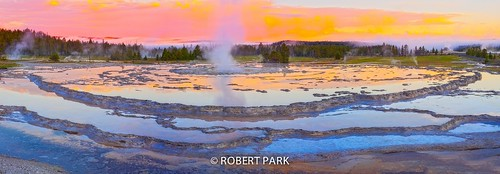 """Porcelain Pool"" yellowstone National Park By Robert Park http://www.robert-park.com by Robert Park Photography"