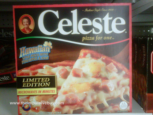 Celeste Limited Edition Hawaiian Pizza
