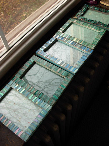 Blue Green Frames by Margaret Almon