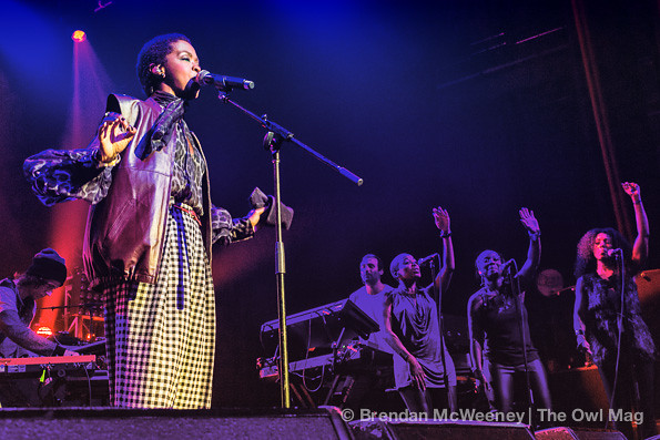 Lauryn Hill @ Fox, Oakland 11/19/12