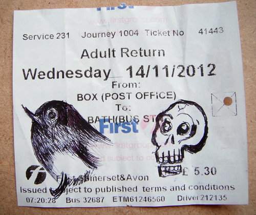 Bus Ticket Robin and Skelly by The People In My Head